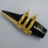 WOODSTONE - ALTO Saxophone Ligature - GOLD PLATE - Selmer