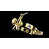 JLV - Ligature - Alto Saxophone - GOLD PLATED - HR Mouthpieces
