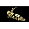 JLV - Ligature - Tenor Saxophone - GOLD PLATED - HR Mouthpieces