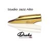 DRAKE - Alto Sax - STUDIO JAZZ - GOLD PLATED /SJMSG/