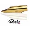 DRAKE - Tenor Sax - NEW YORK JAZZ - METAL GOLD PLATED /MNYJT/