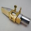 WOODSTONE - ALTO Saxophone Ligature - GOLD PLATE - Guardala