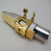 WOODSTONE - ALTO Saxophone Ligature - GOLD PLATE - Guardala