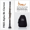 BACKUN - Bb Clarinet - ALPHA /Silver/