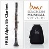 BACKUN - Bb Clarinet - ALPHA /Silver/