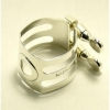WOODSTONE - Ligature SOLID SILVER - Clarinet Bass