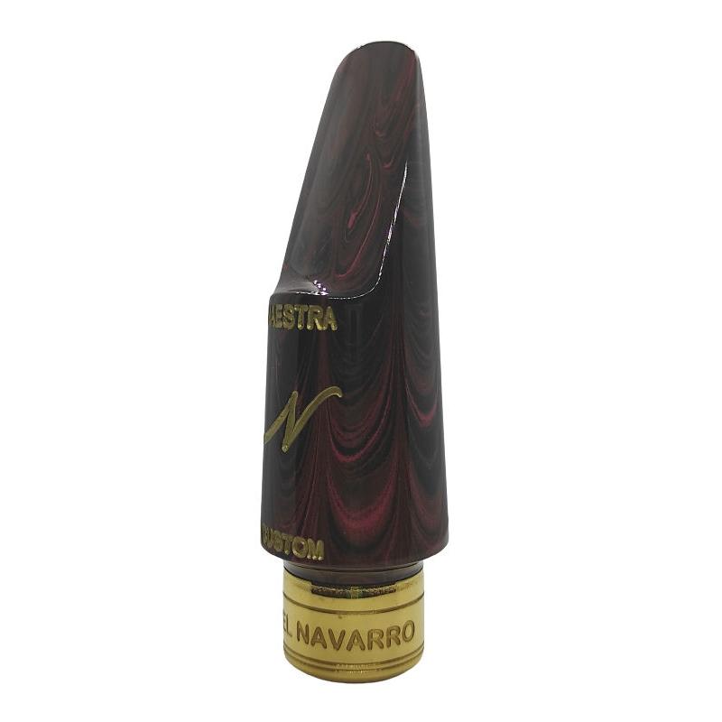 NAVARRO - Tenor Sax - HR MARBLED MAESTRA - METAL RING