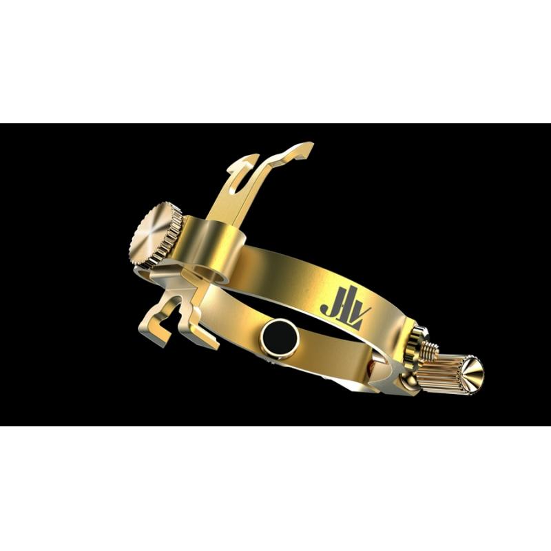 JLV - Ligature - Clarinet Bb - BRUSHED BRASS